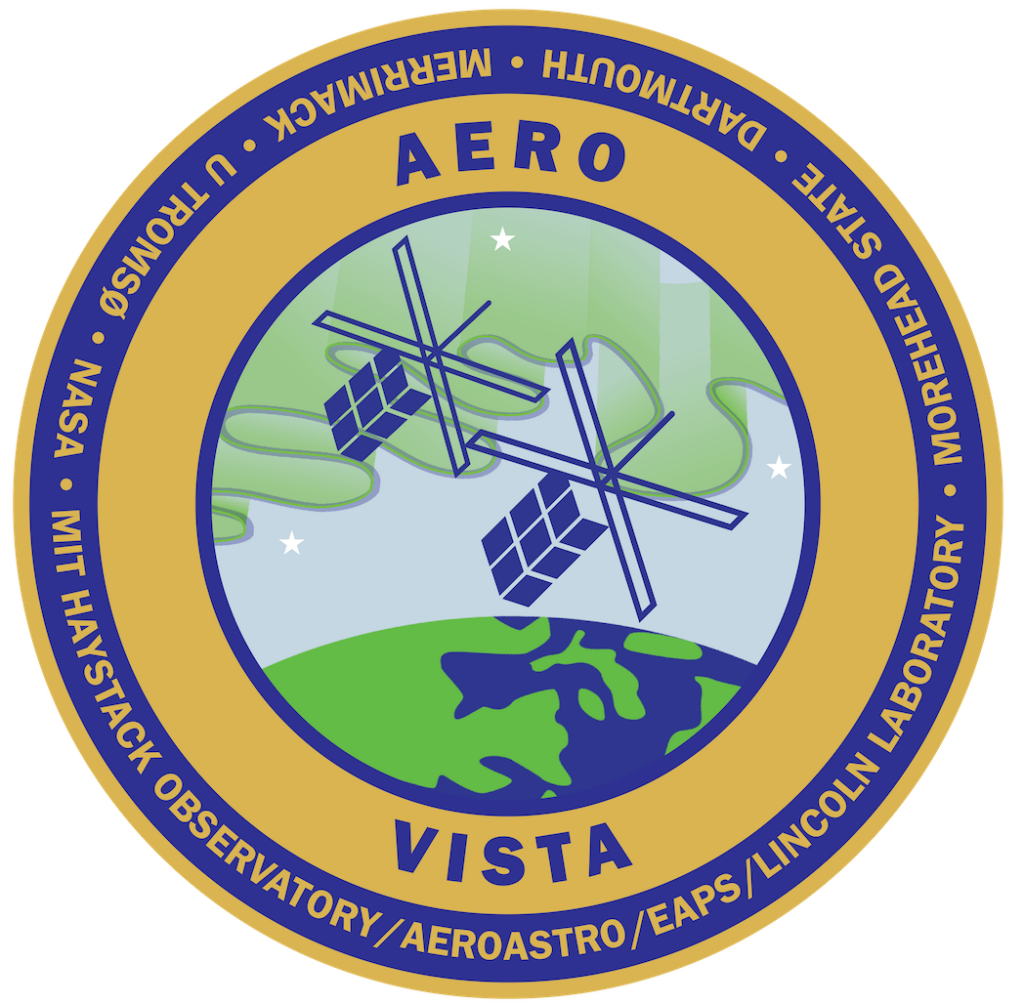 AERO-VISTA cube sat logo, patch