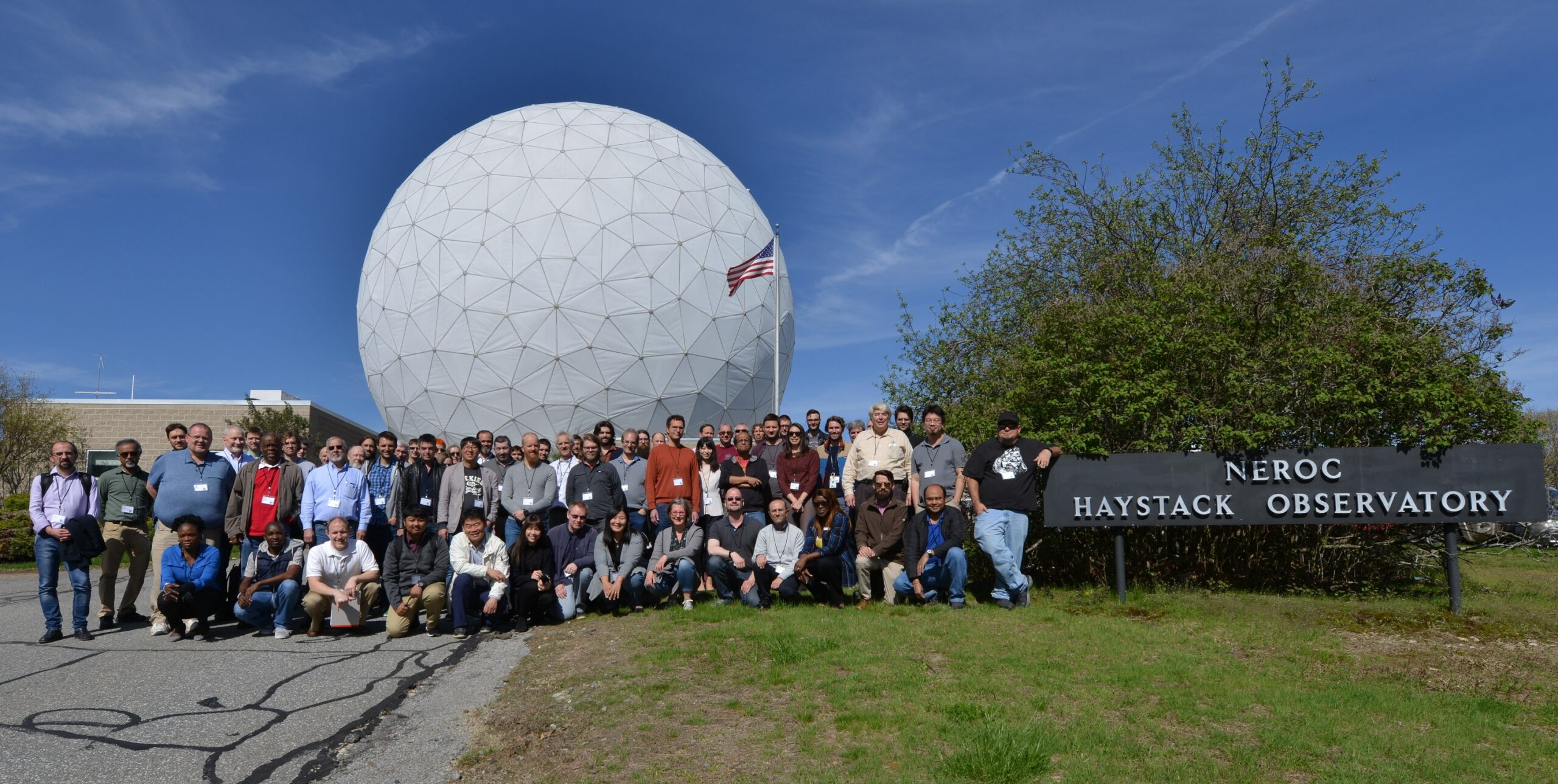 IVS 10th Technical Operations Workshop (2019) participants at MIT Haystack Observatory