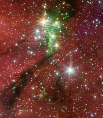 Serpens South star cluster image